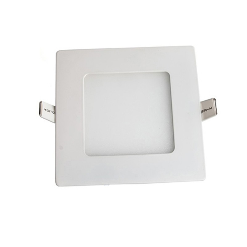 Light Boat Car Truck RV Emergency Light 3W Square Recessed Ultra-slim Ceiling LED Lamp 12V in Cool White 6000K