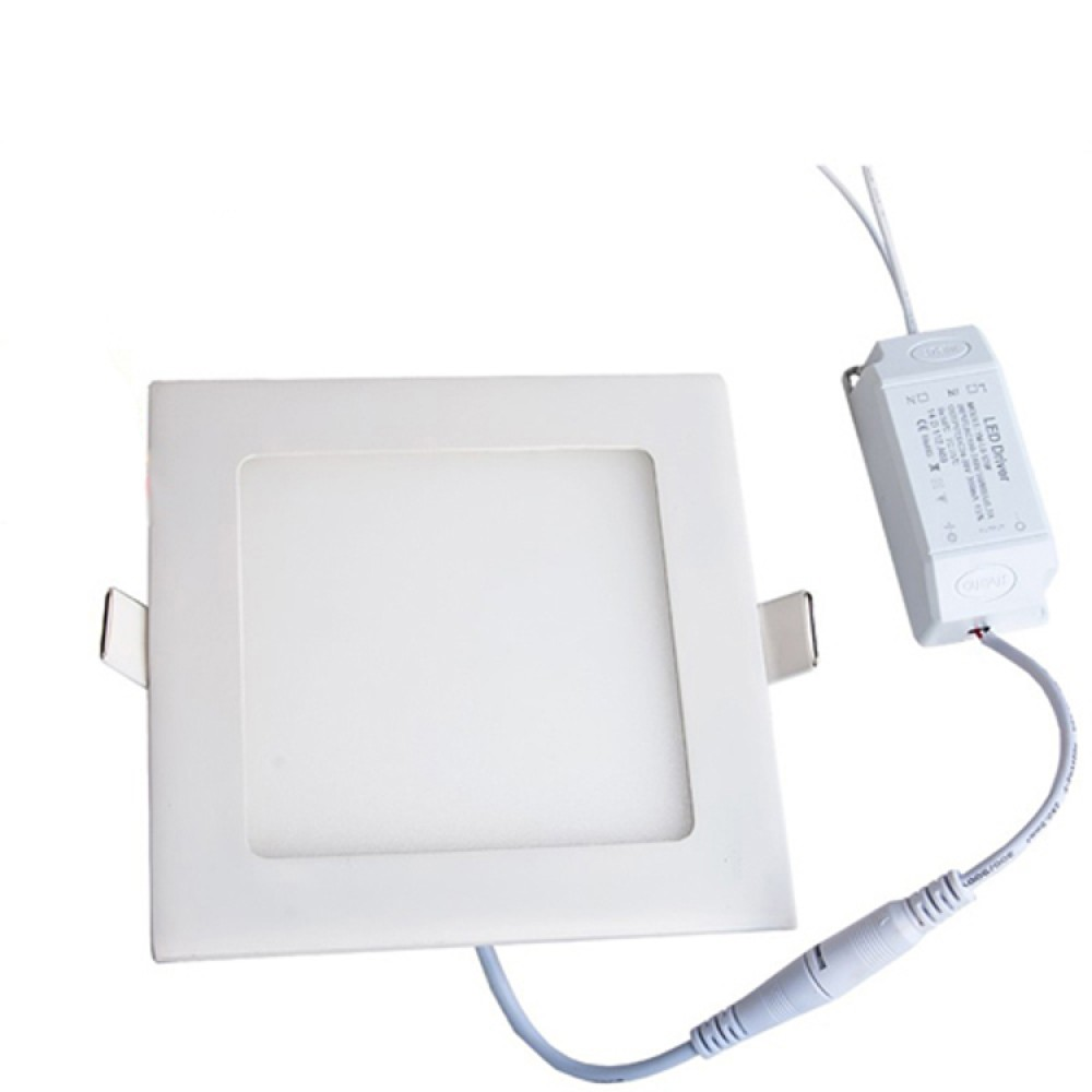 Light Boat Car Truck Rv Emergency 9w Square Recessed Ultra Leds On 12v For Cars And Trucks Slim Ceiling Led Lamp In Cool White