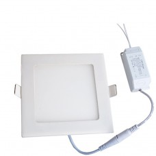 IP65 Waterproof  9W Square Recessed Ultra-slim Ceiling LED Light Lamp in Cool White