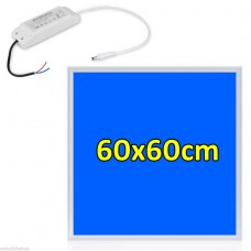 BLUE 460nm GROW LIGHT 36W LED PANEL LIGHT 600x600 mm