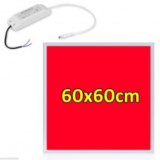 RED 620nm GROW LIGHT 48W LED PANEL LIGHT 600x600 mm